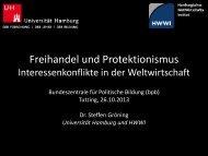 Freihandel und Protektionismus - Akademie für Politische Bildung ...