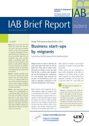 IAB Brief Report on Business start-ups by migrants - Global ...