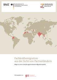 Fachkräftemigration aus der Sicht von Partnerländern - GIZ