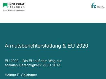 Gaisbauer_Armutsberichterstattung_EU 2020 - IFZ-Salzburg