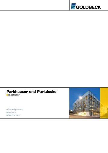 Parkhäuser und Parkdecks
