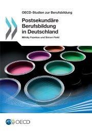 OECD-Studien zur Berufsbildung - DEHOGA Bundesverband