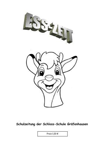 Schulzeitung der Schloss-Schule Gräfenhausen