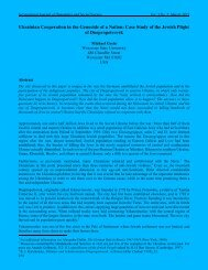 Chapter VI - International Journal of Humanities and Social Science