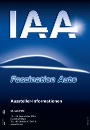 Informationen für Aussteller - IAA - Internationale Automobil ...