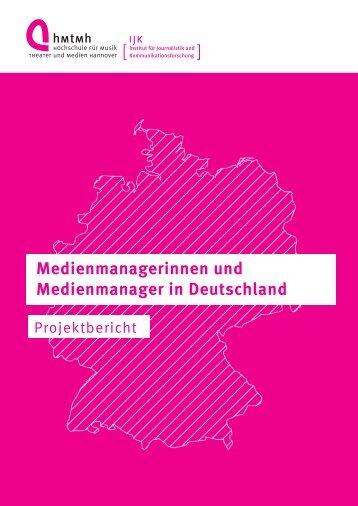 Medienmanagerinnen und Medienmanager in Deutschland ...