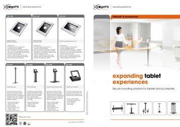expanding tablet experiences - Monitorhalterung.de
