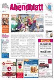 Kein Platz für Tradition - Berliner Abendblatt
