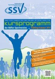 Das aktuelle Kursprogramm zum Download als pdf - Friedrichshafen