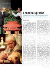 Lebhafte Sprache - Die Deutsche Bühne