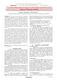 Acryl Resin Distribution In Lime Tree Wood Determined ... - ijmer