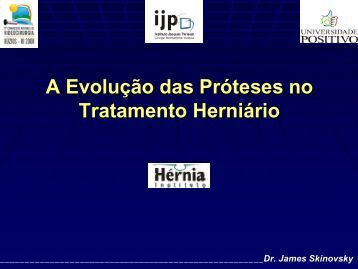 A Evoluç ão ão das Pró teses teses no Tratamento Tratamento ... - IJP
