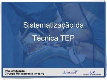 Sistematização da Técnica TEP - IJP