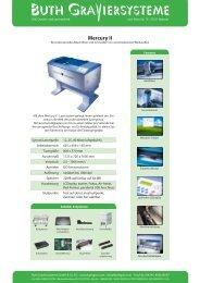 Mercury II - Buth Graviersysteme Gmbh & Co. KG