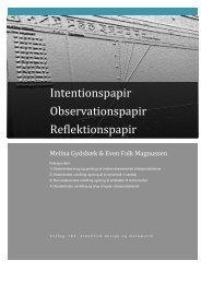 MelinaogEvensintentions og reflektionspapir 2 - Emu