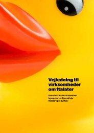 Vejledning til virksomheder om ftalater - Dansk Erhverv