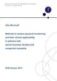 Ulla Werlauff Methods to assess physical functioning - Danske ...