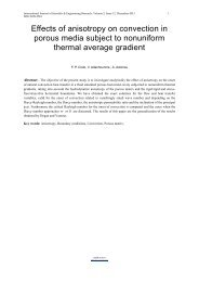 Effects of anisotropy on convection in porous media subject to ...
