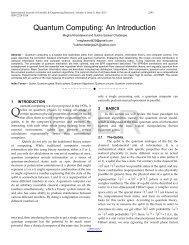 Quantum Computing - International Journal of Scientific and ...