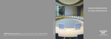 kommunikationskultur in neuen dimensionen - Monitorhalterung.de