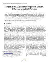 Improve the Evolutionary Algorithm Search Efficiency with SAT ...