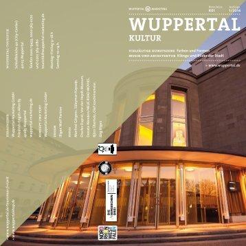 zur Kultur-Broschüre (PDF-Datei) - Stadt Wuppertal