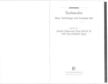 Ben Williams - Black Secret Technology - iSites - Harvard University