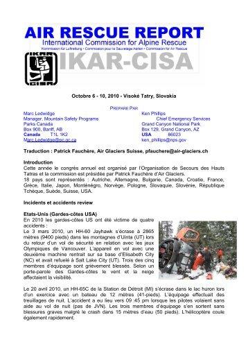 Cette année le congrès annuel est organisé par l ... - IKAR-CISA