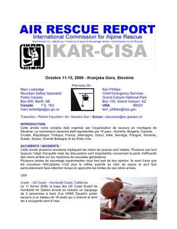 Octobre 11-15, 2006 - Kranjska Gora, Slovnie - IKAR-CISA