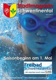 Saisonbeginn am 1. Mai - Stadtmagazin Schwentinental