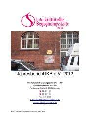 IKB e.V. Sachbericht 2012 St. Pauli Gisi 1