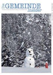 Insider Januar 2013 als pdf herunterladen - Israelitische ...