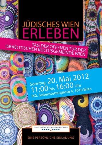 ERLEBEN - Israelitische Kultusgemeinde Wien