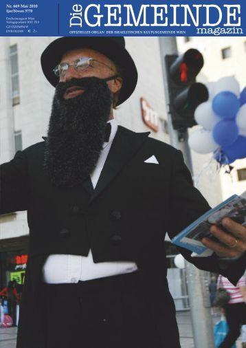 Mai 2010 als pdf herunterladen - Israelitische Kultusgemeinde Wien