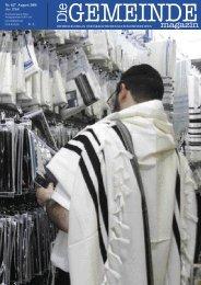 August 2008 als pdf herunterladen - Israelitische Kultusgemeinde ...