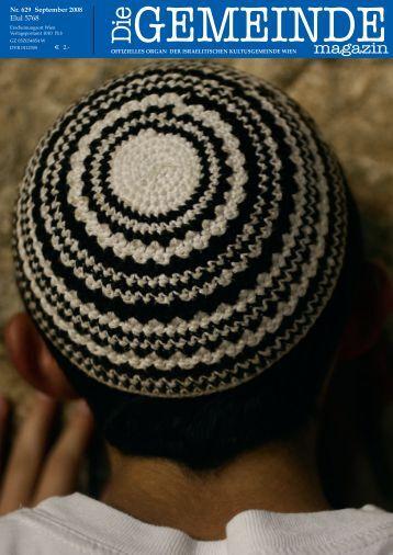 'Die Gemeinde' August 2008 als pdf herunterladen - Israelitische ...