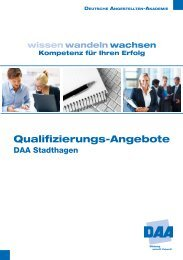 Qualifizierungs-Angebote - Branchenbuch meinestadt.de