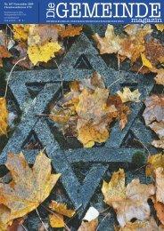 'Die Gemeinde' November 2009 als pdf herunterladen - Israelitische ...