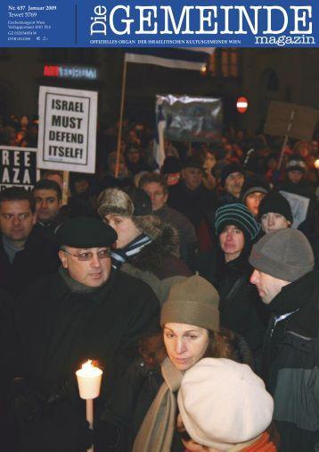 'Die Gemeinde' Januar 2009 als pdf herunterladen - Israelitische ...