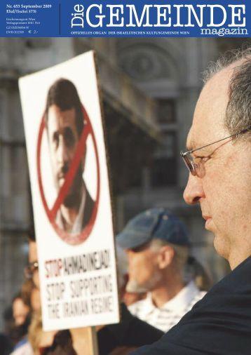 September 2009 als pdf herunterladen - Israelitische ...