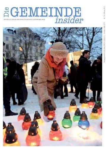 Insider Februar 2013 als pdf herunterladen - Israelitische ...