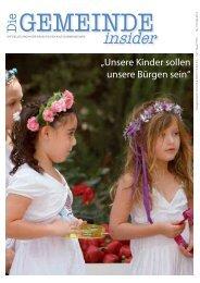 'Die Gemeinde' Insider Mai 2013 als pdf herunterladen - Israelitische ...