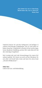 WEITERBILDUNG JAHRESPROGRAMM - AGAPLESION DIAKONIE ... - Page 3