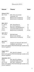 WEITERBILDUNG JAHRESPROGRAMM - AGAPLESION DIAKONIE ... - Page 7
