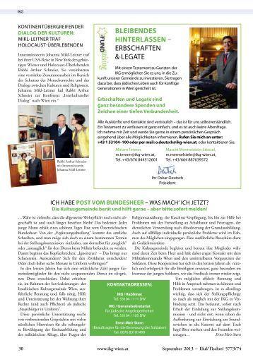 Insider SEPTEMBER 2013 als pdf, TEIL 2, S. 30 bis 56 herunterladen
