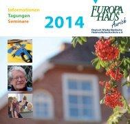Informationen Tagungen Seminare - Europahaus Aurich