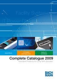 Bachmann facility systems - Monitorhalterung.de