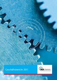 s. s. Geschäftsbericht 2011 - IKK classic