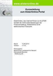Kurzanleitung - Elster