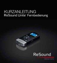 kurzanleitung - GN ReSound GmbH
